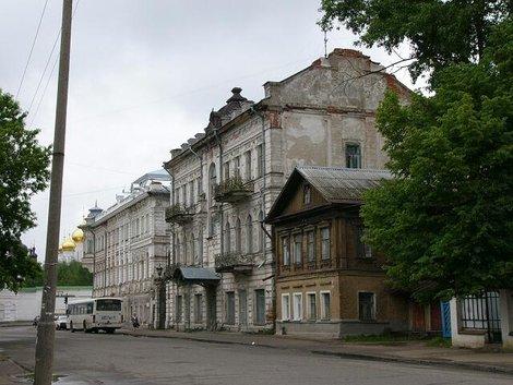 15. Старые дома Костромы
