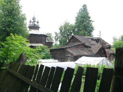 20 Остатки музея деревянного зодчества