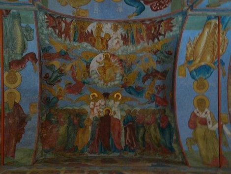 28. Элемент стенной росписи Троицкого собора