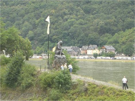 Памятник Лореляй Земля Рейнланд-Пфальц, Германия