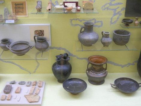 Ольвийские древности в Киевском музее археологии