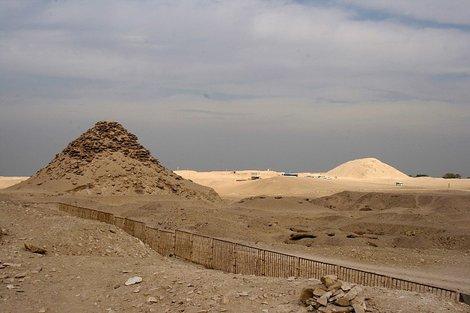 Пирамиды пятой династии