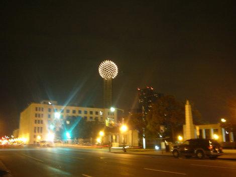 Ночной Даллас.