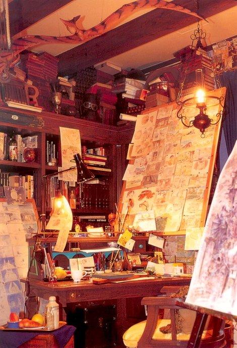 Рабочий стол аниматора (с открытки)