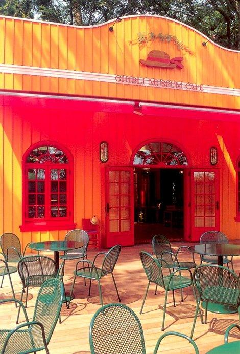 Музейное кафе (с открытки)