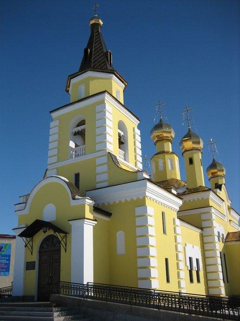 Церковь в Надыме