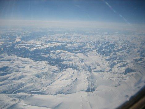 Полярный Урал с самолета