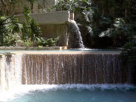Водопад.