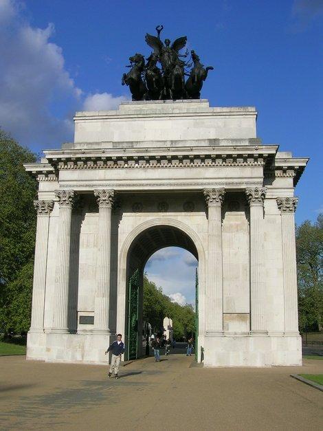 Мраморная арка в Гайд-парке