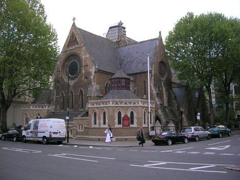 Церковь на Глустер-роуд, напротив нашего второго отеля