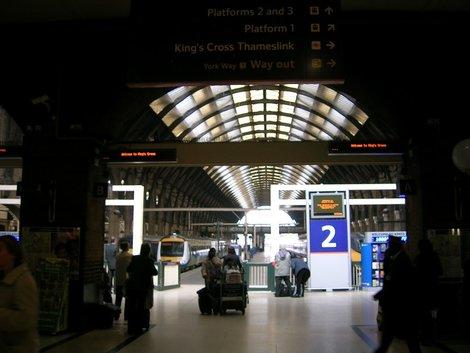 Мрачный вокзал Кингс-Кросс