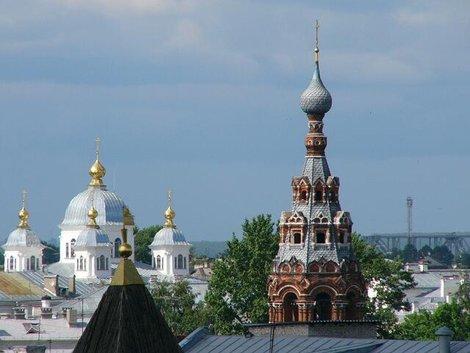 38. Вид со звонницы Спасо-Преображенского монастыря