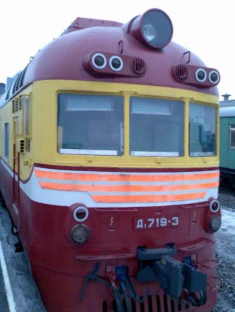 Дизель-поезд.