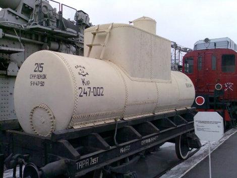 В таких цистернах возили азиатскую нефть в  молодой стране — СССР.