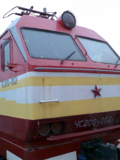 ЧС-200. Чешский электровоз.