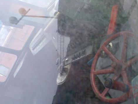 Так выглядит кабина машиниста.
