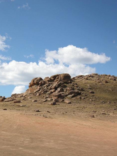 Малый Пайкс Пик, высота 4078 метров.