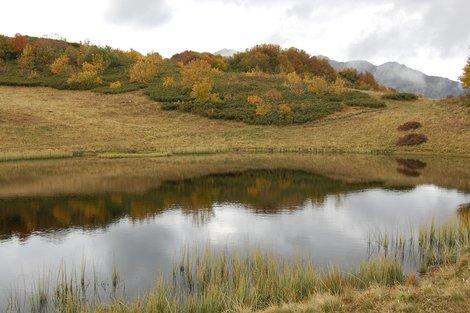 Озеро Круглое, 1800 метров над уровнем моря
