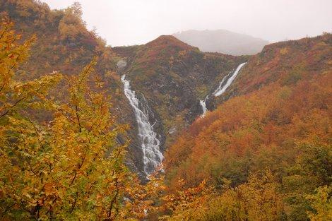 Водопад Братья на реке Ачипсе