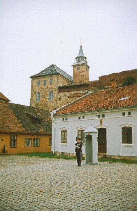 На территории крепости Акершуз.