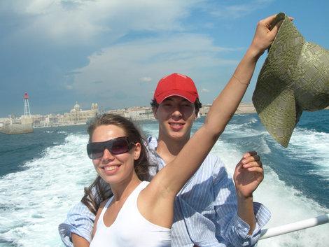 Плывем на остров Иф