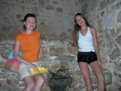 Подземный ход в камере Дантеса