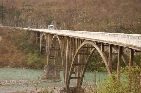 Мост через Гумисту