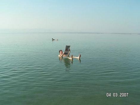 Классический снимок с Мёртвого моря