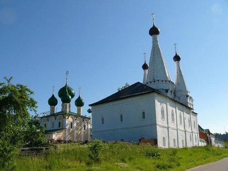 04. Храмы Алексеевского монастыря
