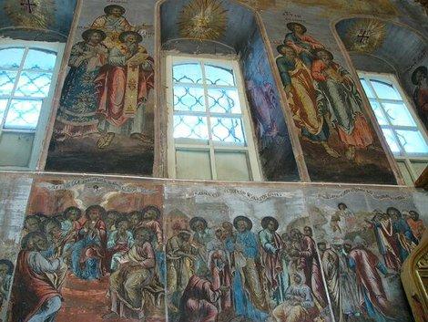 34. Росписи церкви Дмитрия на Крови в Угличском кремле