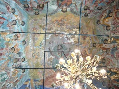 35. Росписи церкви Дмитрия на Крови в Угличском кремле