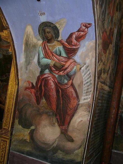 36. Росписи церкви Дмитрия на Крови в Угличском кремле