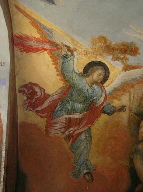 38. Росписи церкви Дмитрия на Крови в Угличском кремле