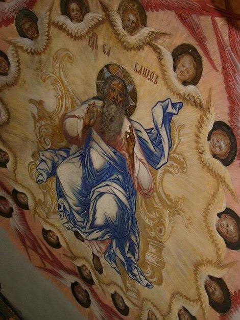 40. Росписи церкви Дмитрия на Крови в Угличском кремле