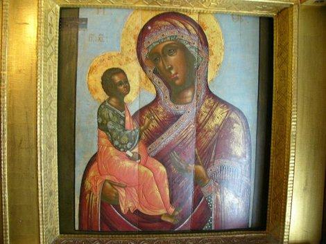 43. Икона Богоматери в церкви Дмитрия на Крови в Угличском кремле