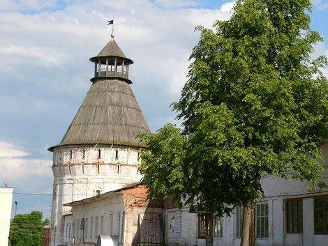 59. Северо-восточная угловая башня Борисоглебского монастыря