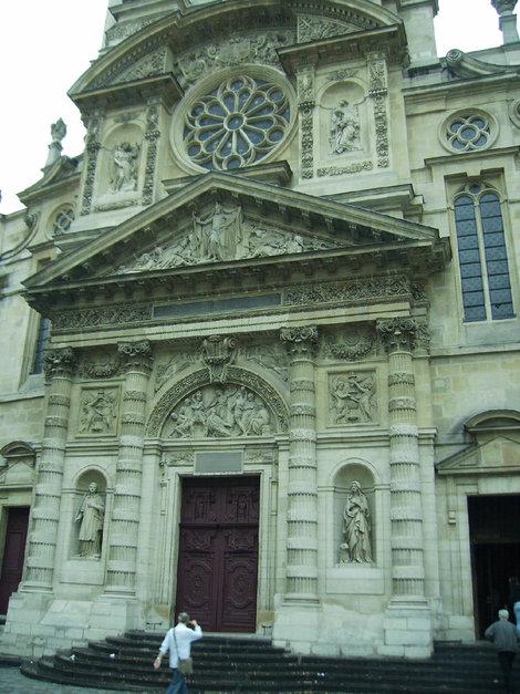 Церковь Святой Женевьевы, покровительницы Парижа