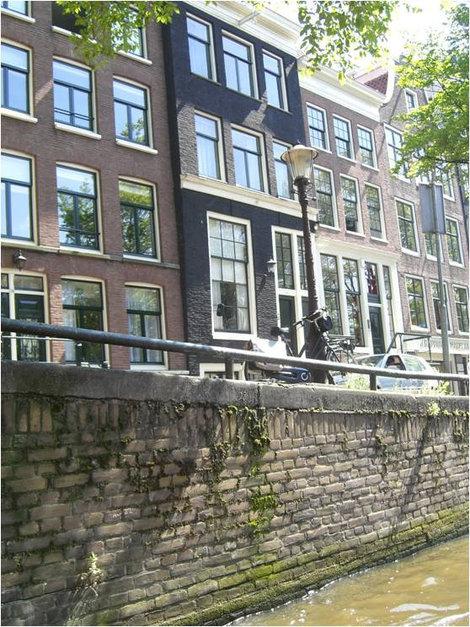 Традиционные амстердамские дома