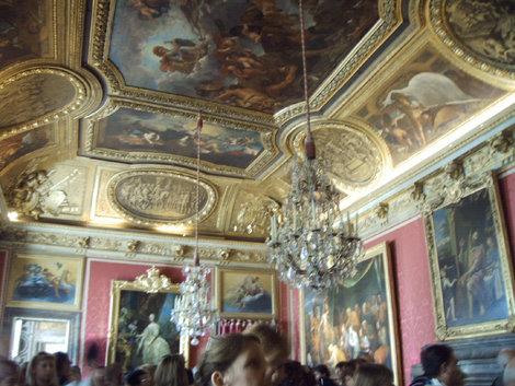 Роскошный интерьер Версаля