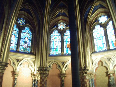 Первый этаж часовни Сен-Шапель