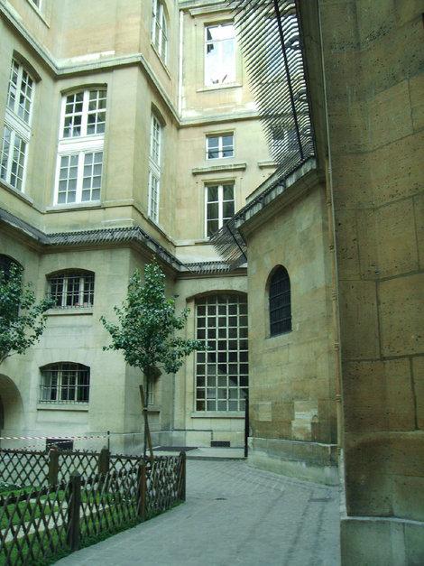 Внутренний двор тюрьмы