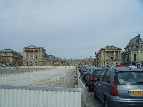 Версальский дворец снаружи
