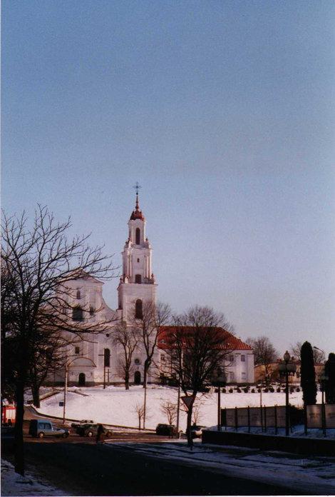 фото Костел ордена св.Бенедикта Гродна