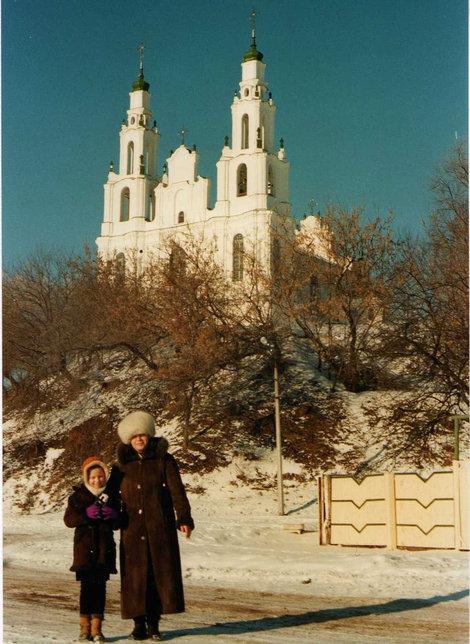 фото Униатский костел св Софии Полоцк