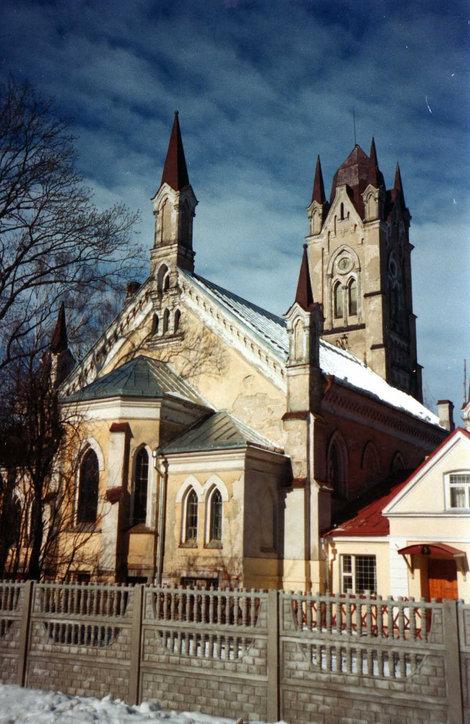 фото Лютеранская кирха Гродна