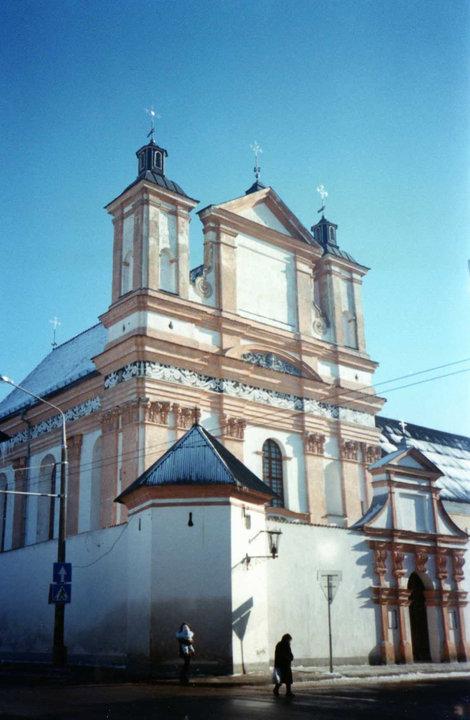 фото Костел ордена св. Бернарда Гродна