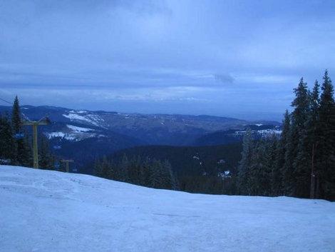 Вид с горы, находящейся в получасе езды от Сибиу