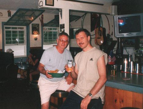 В баре, около озера Шамплейн