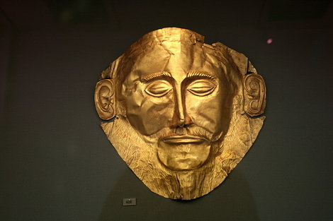 Золотая маска Агамемнона