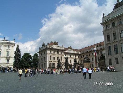 Вид на президентский дворец